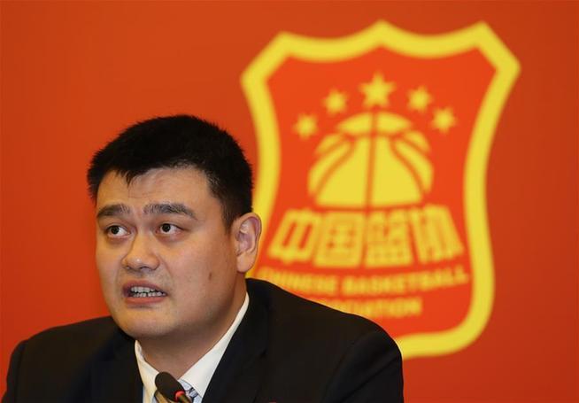 (体育)(7)篮球――中国篮协全国代表大会新闻发布会举行