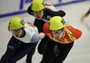 短道男子5000米接力:中国队夺冠