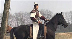 黄晓明《琅琊榜2》骑马路透照曝光