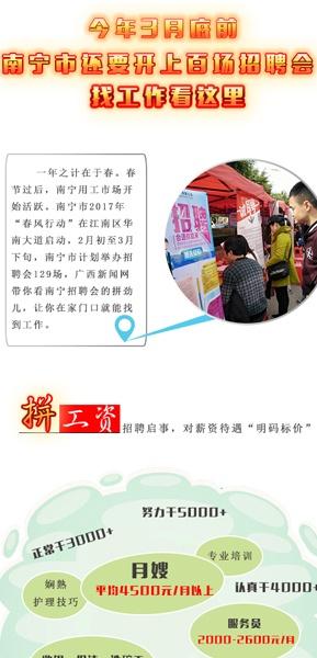 [桂刊]找工作看这里 3月底前南宁要开上百场招聘会