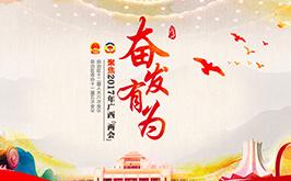 """奋发有为--聚焦2017年广西""""两会"""""""