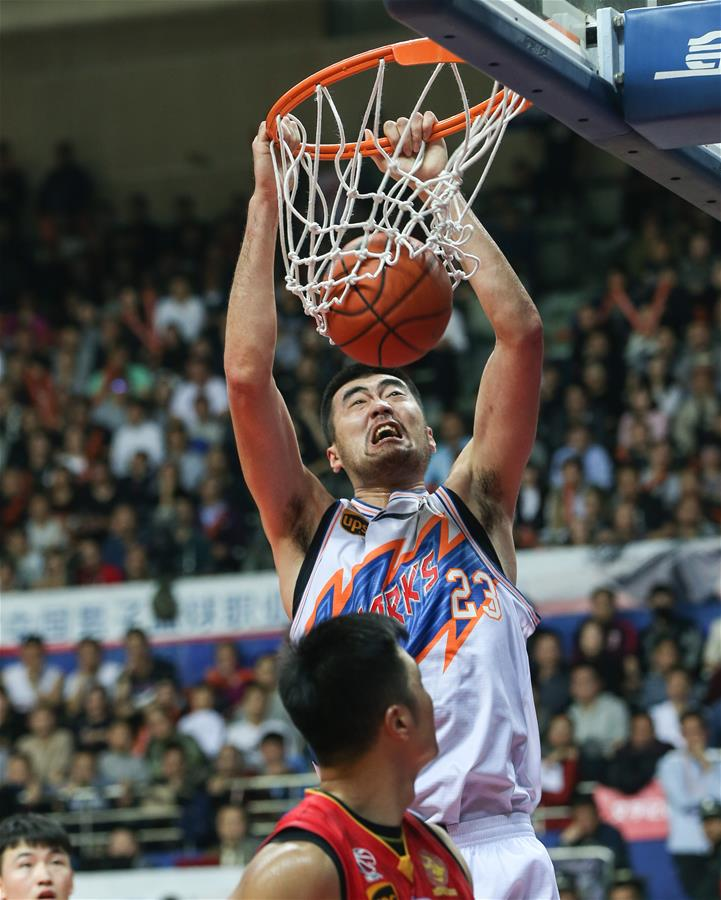 (体育)(7)篮球――CBA四分之一决赛第五场:上海哔哩哔哩无缘半决赛