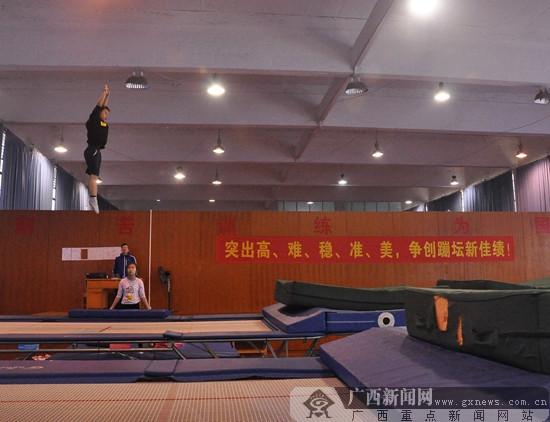 选新苗备人才 广西体校春季运动队招收102人试训