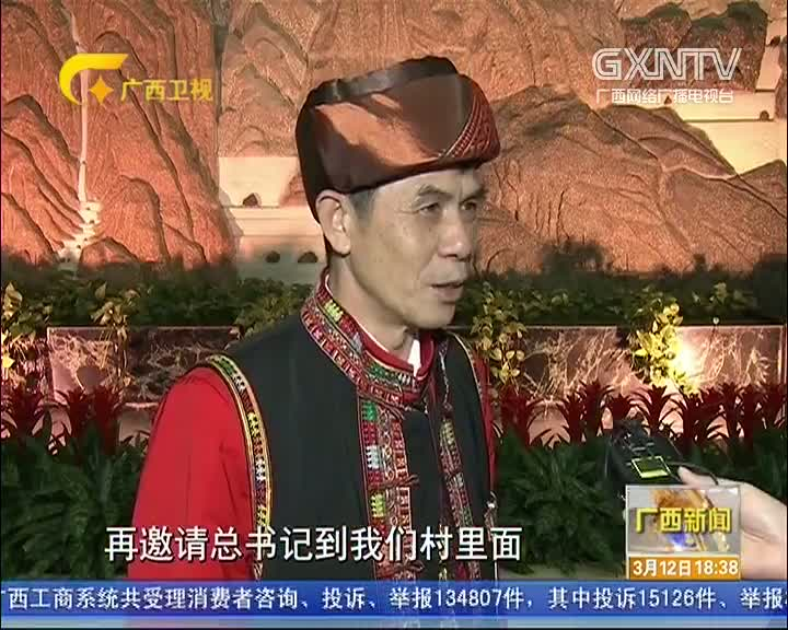 【两会现场】广西代表委员:习近平总书记把每个民族都记在心里