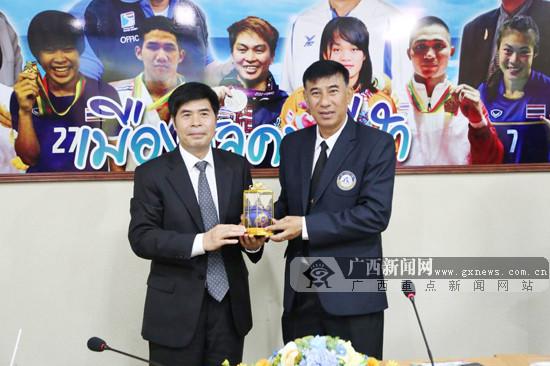 广西体专出访泰国四所体院 面向东盟开展区域合作
