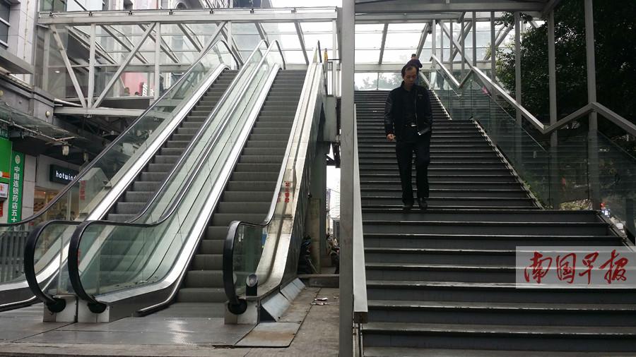3月14日焦点图:南宁部分天桥电梯将启用