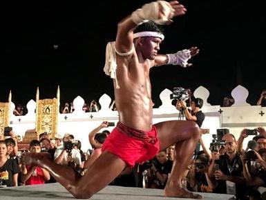 泰国世界泰拳拜师大会举行