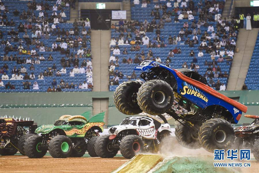 [18](外代二线)沙特举办怪兽卡车表演赛