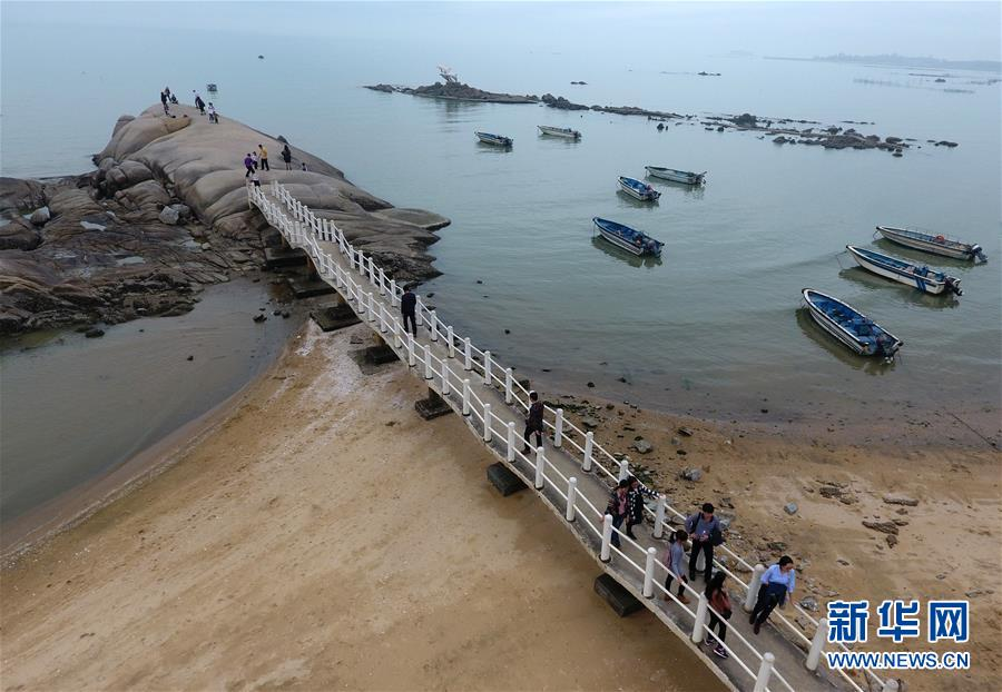 (新华网)(3)广西钦州:春暖海边好游玩