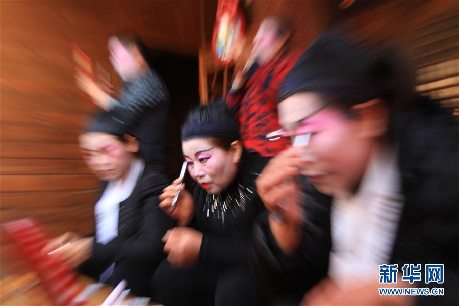 #(XHDW)(4)山东沂南:百年传唱的弦子戏