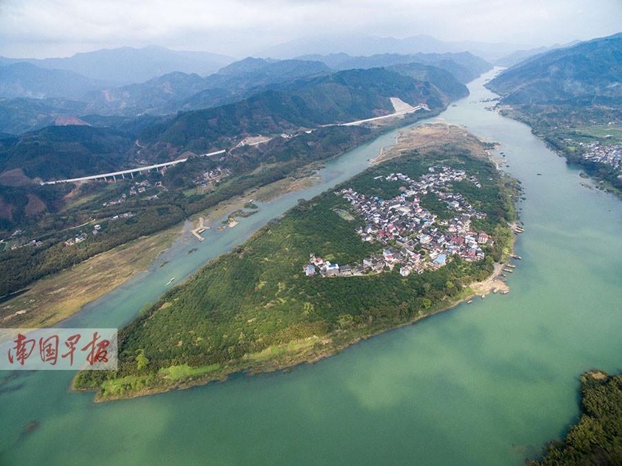 柳州三江丹洲岛:昔日繁华古商埠 如今游客逍遥岛
