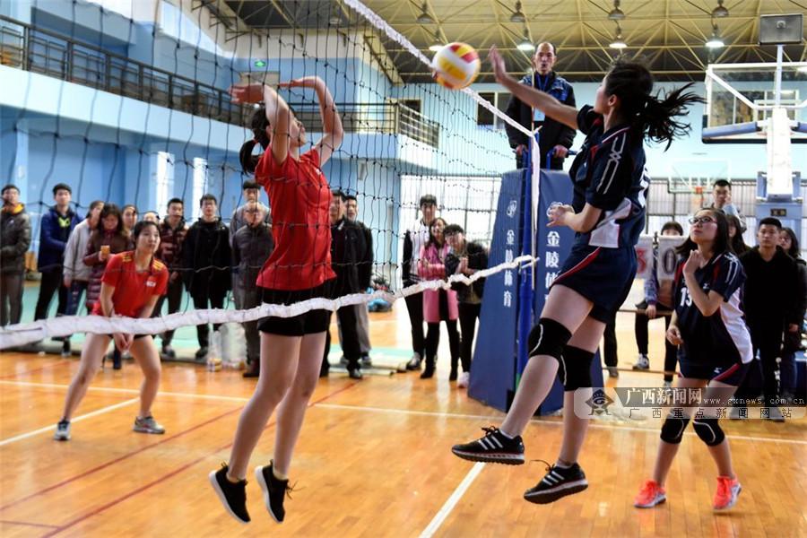 桂林中学生排球赛落幕 桂林中学获高中男子组桂冠