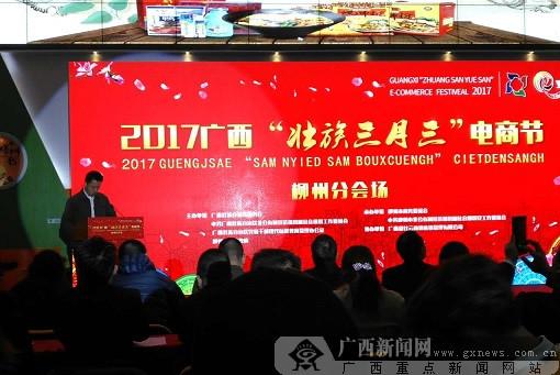 """广西""""壮族三月三""""电商节柳州分会场活动举行"""
