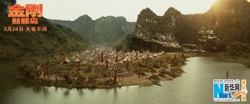"""《金刚:骷髅岛》曝全新""""巨兽出没""""版海报"""