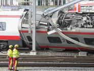 瑞士:火车脱轨致7人受伤