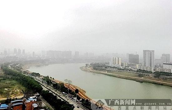 """南宁勾勒""""百里秀美邕江"""" 展现江河水岸新貌(图)"""