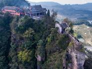 重庆綦江:峭壁上的千年古寺