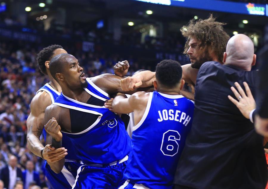 (体育)(5)篮球――NBA常规赛发生球场打架事件