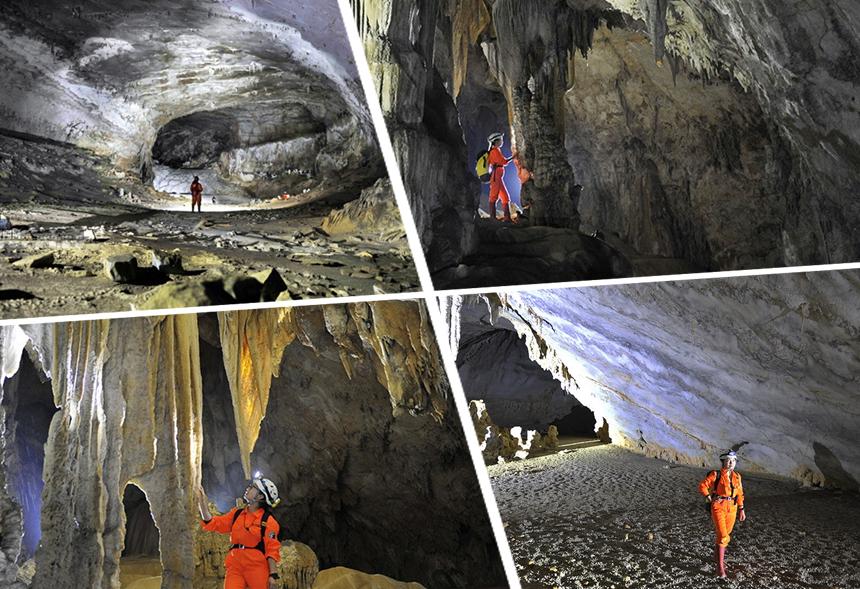 """中外科考队东兰探险 发现神奇洞穴和""""森林之眼"""""""