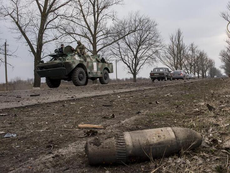 乌克兰军火库爆炸已致1死5伤