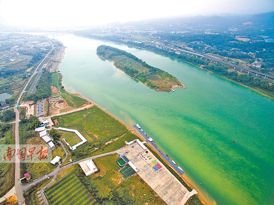 探访广西江河沙洲岛:昔藏深闺沙洲岛成旅游香饽饽