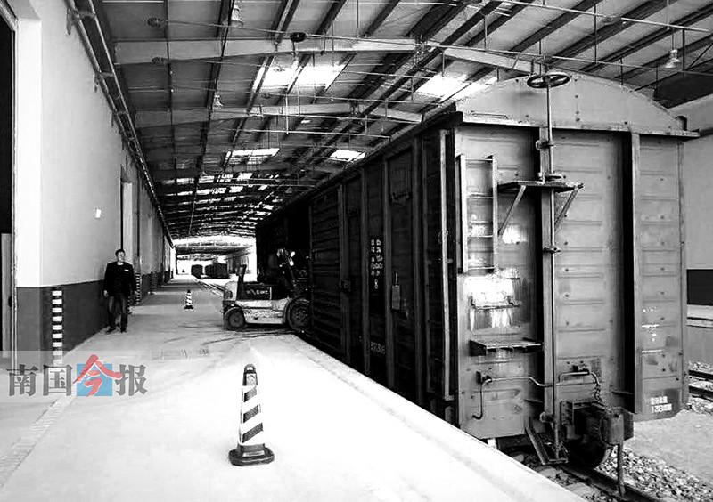 """柳州东站""""搬新家"""" 升级为柳州南物流中心(图)-广西 ..."""