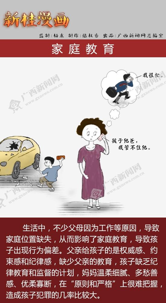 [新桂漫画]家庭教育