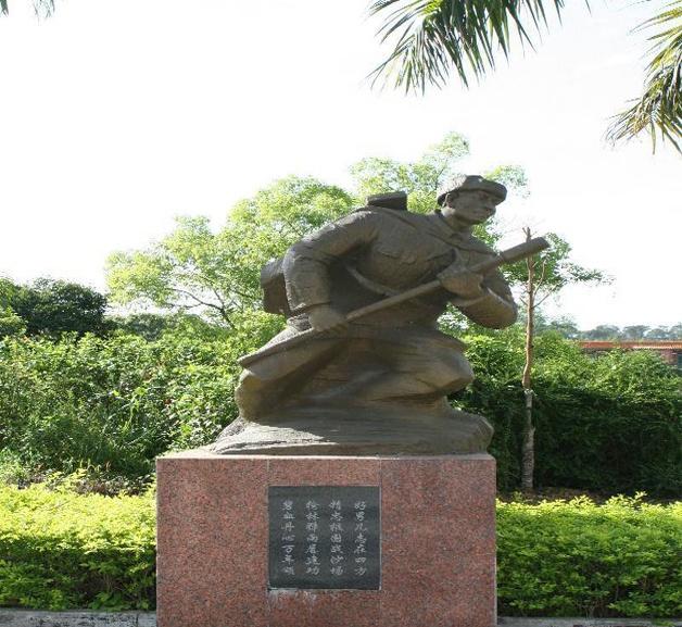 广西壮族自治区烈士陵园无名烈士雕像