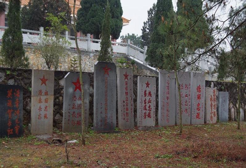 靖西烈士陵园碑林