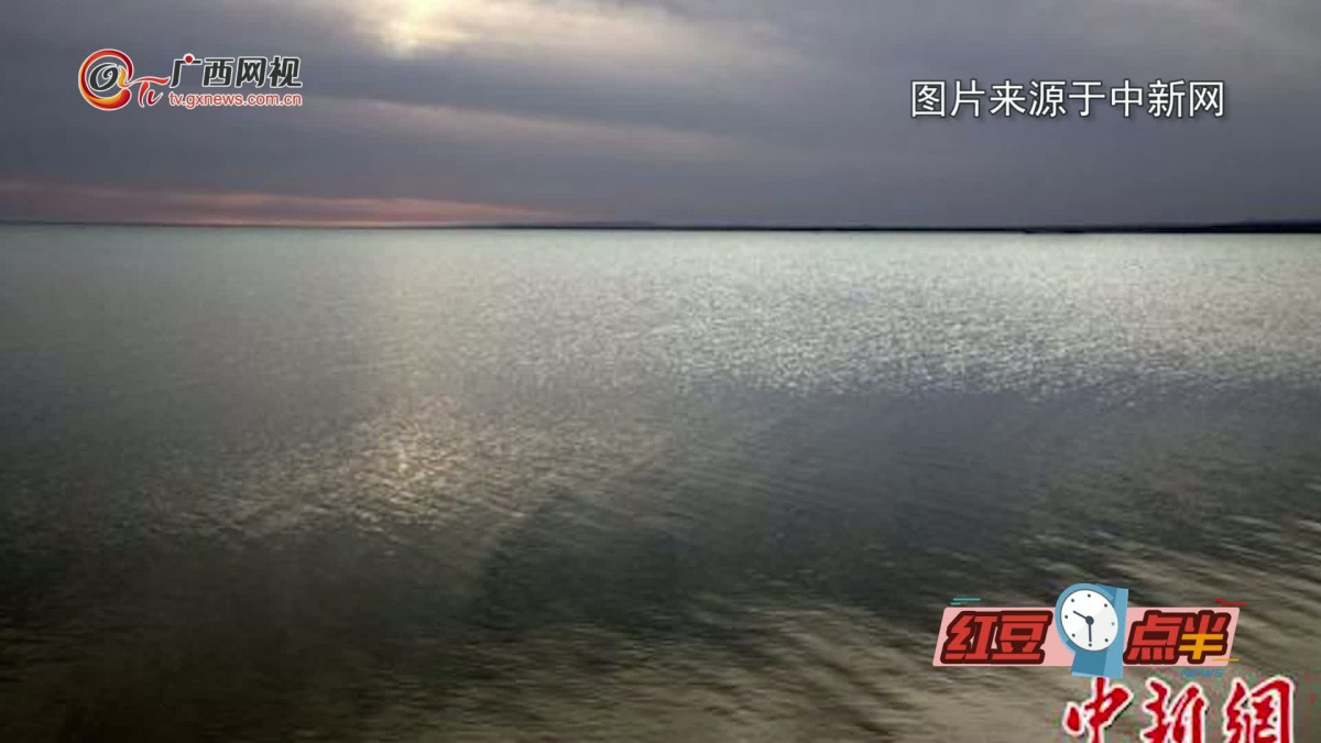 甘肃敦煌哈拉诺尔湖干涸60年重现碧波