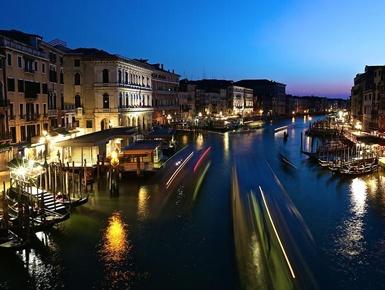威尼斯运河美景