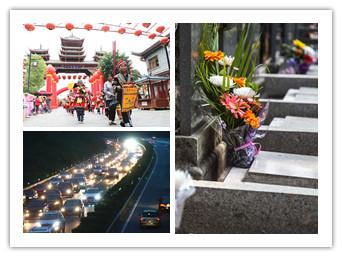 4月5日焦点图:走柳南高速 不少司机堵在出行路上