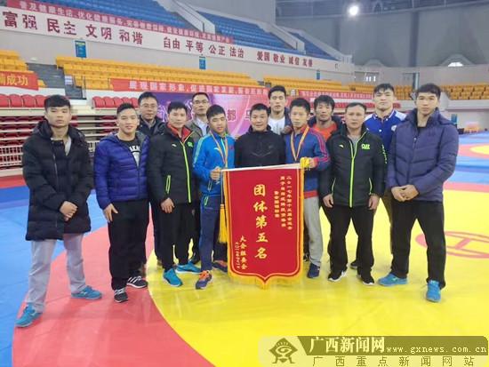 全运会男子自由式摔跤预赛:广西获3张决赛门票