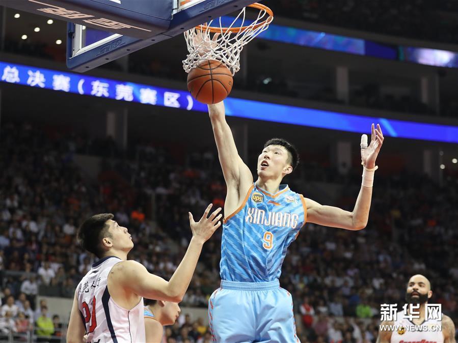 (体育)(2)篮球――CBA总决赛第三场:新疆喀什古城胜广东东莞银行