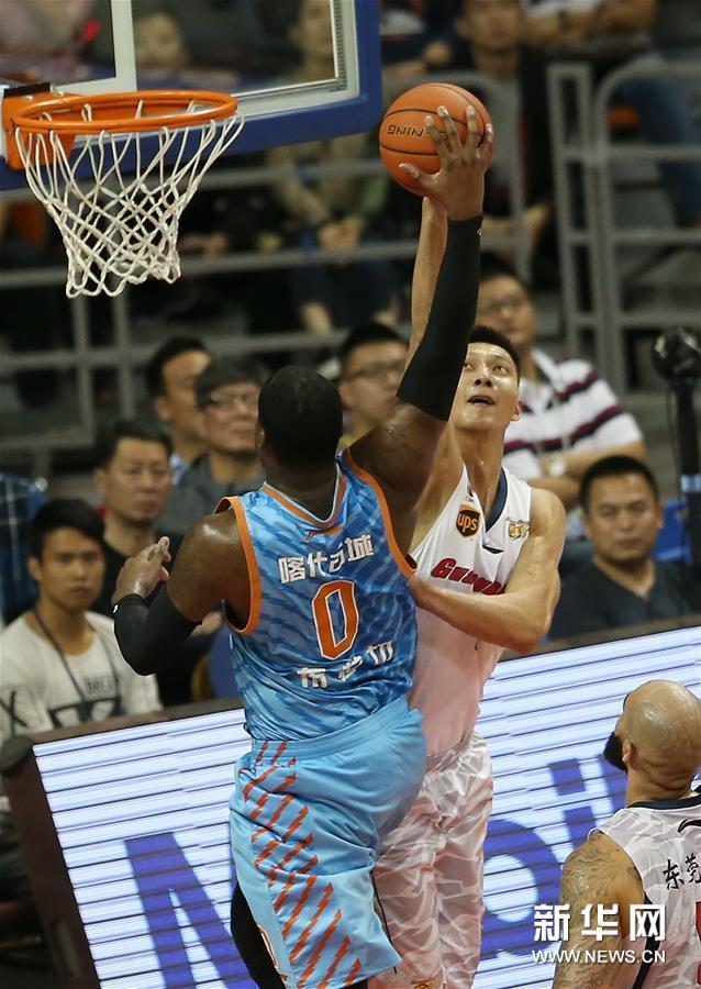 (体育)(7)篮球――CBA总决赛第三场:新疆喀什古城胜广东东莞银行