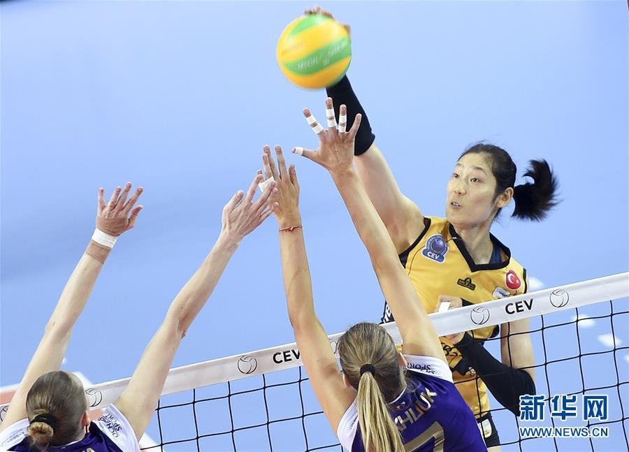 (体育)(5)排球――女排欧冠:瓦基弗银行队晋级欧冠四强