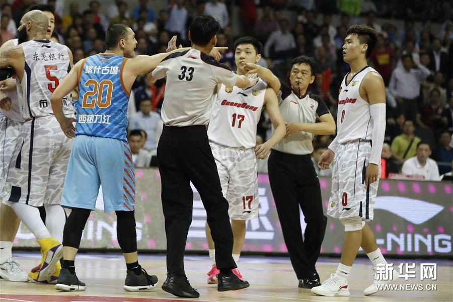 (体育)(6)篮球――CBA总决赛第三场:新疆胜广东