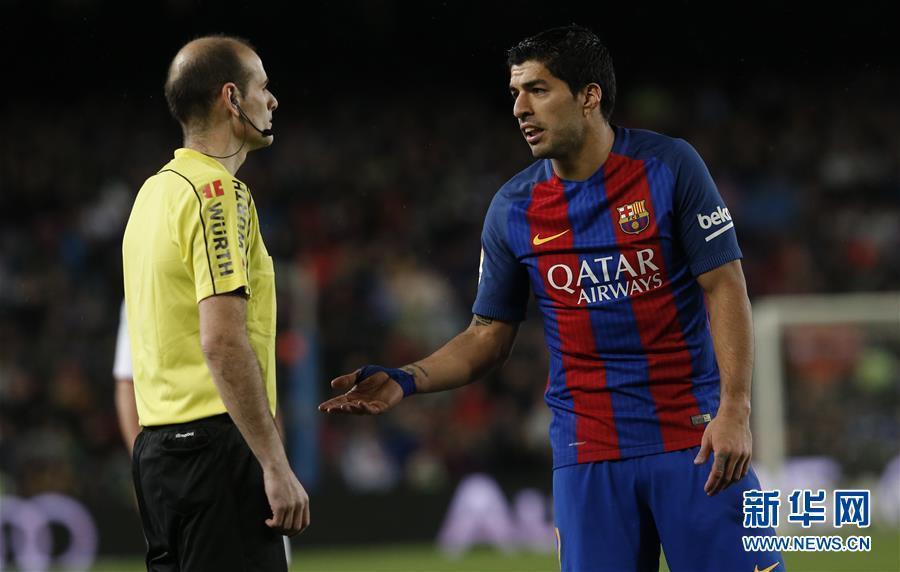(体育)(7)足球――西甲:巴塞罗那胜塞维利亚