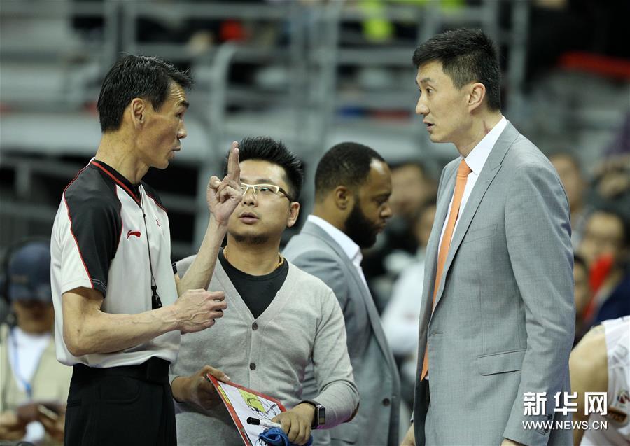 (体育)(22)篮球――CBA总决赛第三场:广东不敌新疆