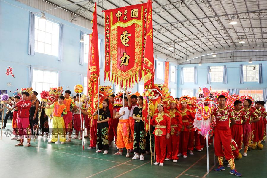 高清:天津全运会广西舞龙队选拔结束 2支队伍入选