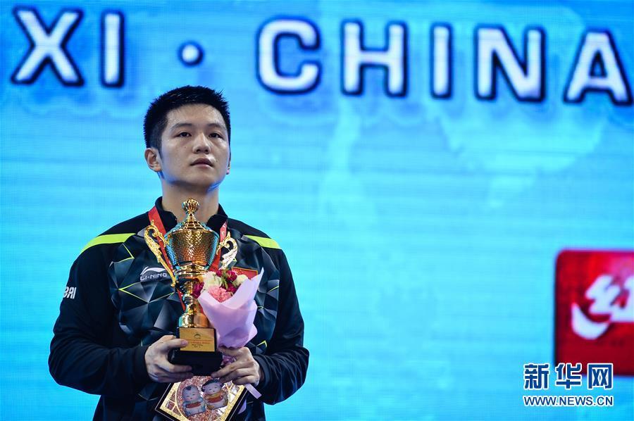 (体育)(2)乒乓球――亚锦赛:男单颁奖仪式