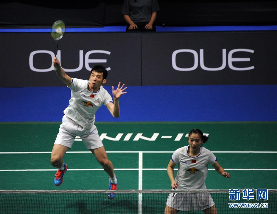 (体育)(5)羽毛球――新加坡公开赛:鲁恺/黄雅琼混双夺冠