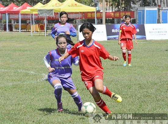 中国-东盟青年足球邀请赛北海开赛 22支球队角逐