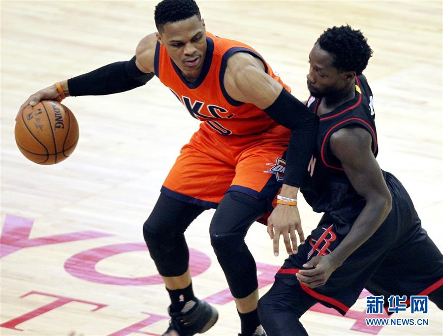 (体育)(3)篮球――NBA季后赛:火箭胜雷霆