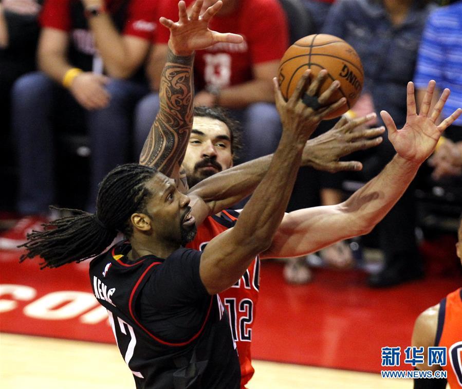 (体育)(1)篮球――NBA季后赛:火箭胜雷霆