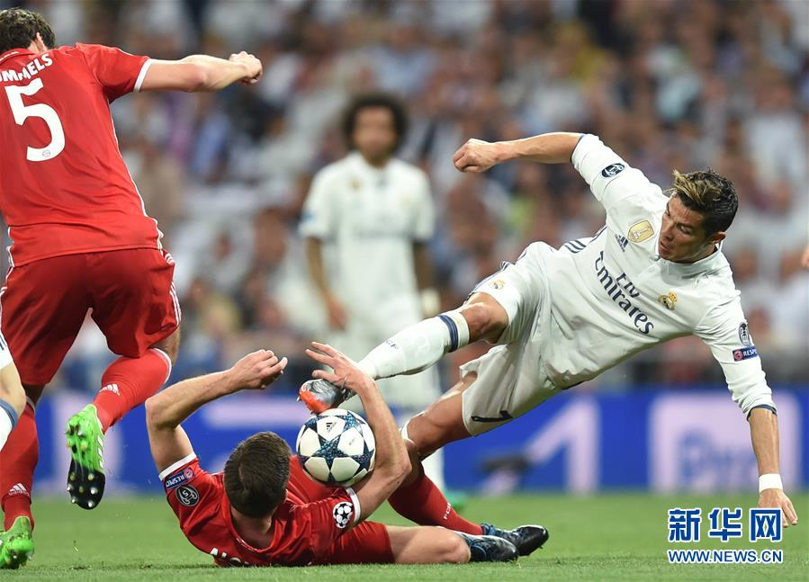 (体育)(6)足球――欧冠:皇马晋级四强