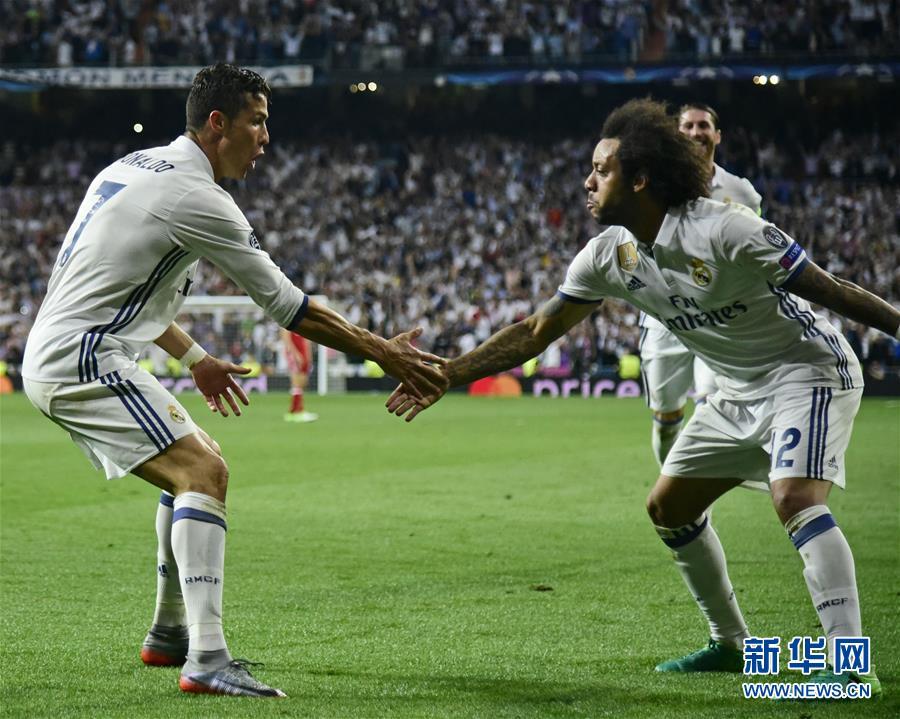 (体育)(4)足球――欧冠:皇马晋级四强