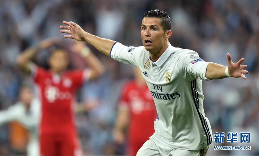 (体育)(2)足球――欧冠:皇马晋级四强