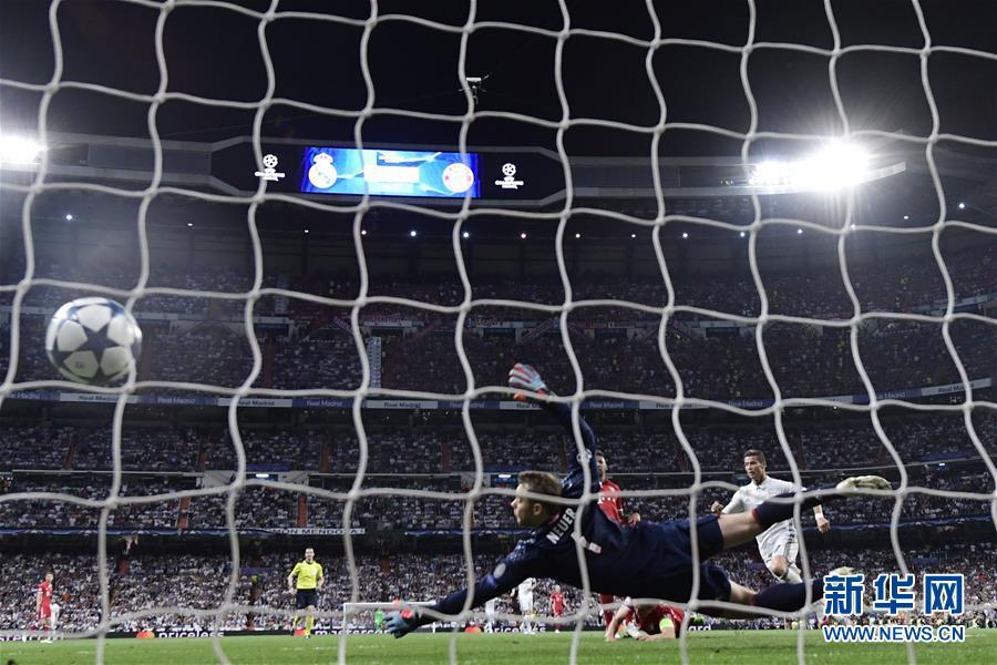 (体育)(3)足球――欧冠:皇马晋级四强
