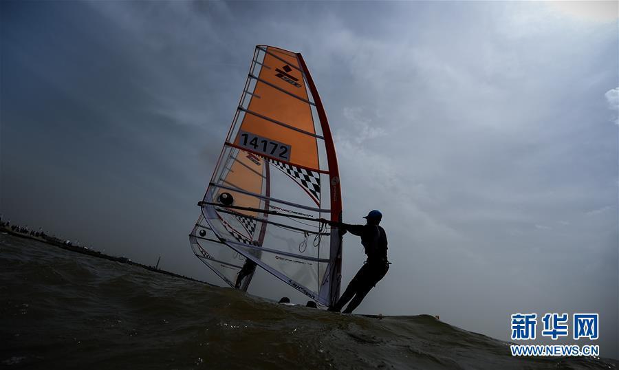 (体育)(3)帆船――中国青年帆船帆板精英赛暨全国OP帆船锦标赛开赛